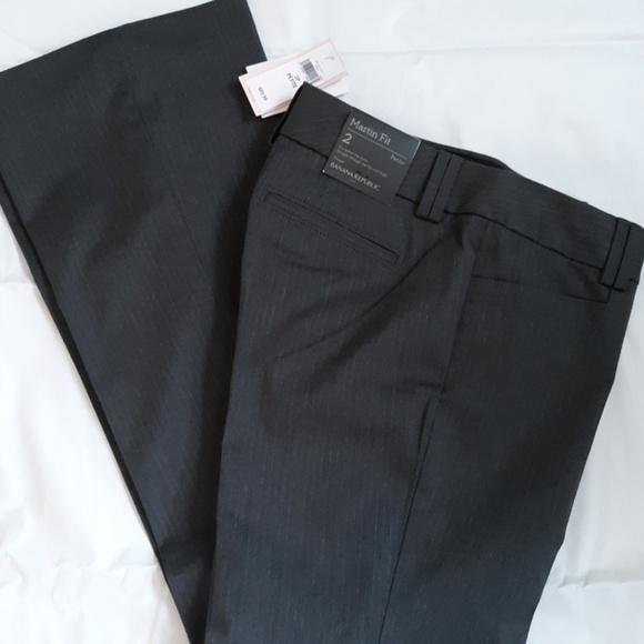 Banana Republic Pants - NWT Banana Republic Martin Fit Trouser Size 2P
